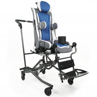 Детская коляска терапевтическая Thomashilfen ThevoTwist на домашней раме  в
