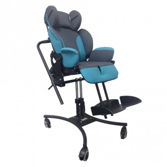 Кресло-коляска инвалидная для детей с ДЦП HOGGI BINGO Evolution на домашней раме в