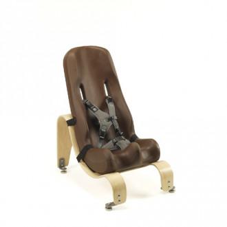 Кресло Special Tomato с деревянной стационарной базой в