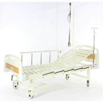 Кровать c механ.приводом Belberg 17B-1Л, 1 функция, пластик (без матраса+столик) в
