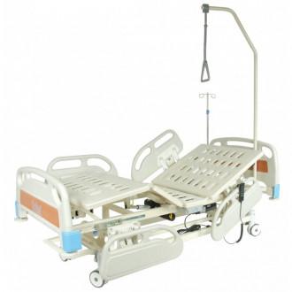 Кровать функциональная с электроприводом Belberg-3-79 с выдвиж.ложементом (5 функ) (CPR+аккум) в