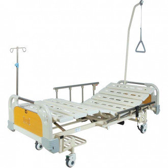 Кровать функциональная с электроприводом Belberg 6-67 (2 функции) с ростоматом, (без матраса) пластик в