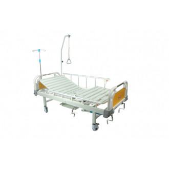 Кровать с механическим приводом Belberg 8-20 (2 функции) пластик с туалетным устройством в