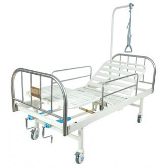 Кровать c механ. приводом на колесах Belberg 8-07 (без матраса) в