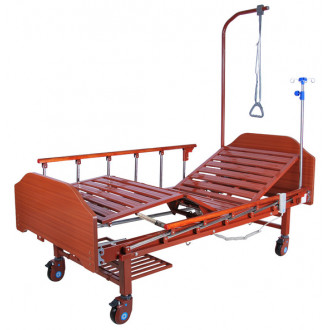 Кровать с электроприводом Belberg 7-077Н, 2 функц. ЛДСП (без матраса) в