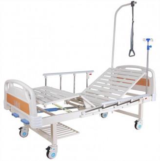 Кровать c механ.приводом Belberg 8-18H, 2 функции пластик (без матраса+столик) в
