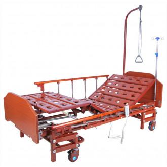 Кровать с электроприводом Belberg 6-066H, 3 функц. с ростоматом ЛДСП (без матраса+столик) в