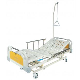 Кровать с механ.приводом Belberg 31-26, 3 функц. с ростоматом ПЛАСТИК(без матраса+столик) в