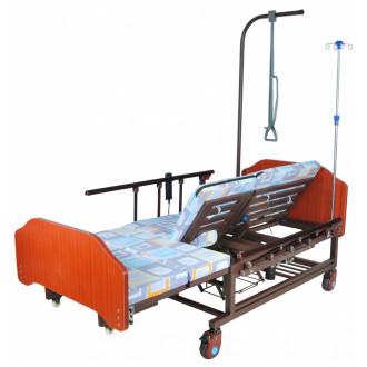 Кровать с электроприводом Belberg 11A-121ПН, 5 функц. туал.устр. ЛДСП (против.матрас) в