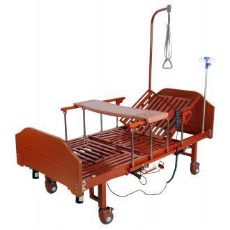Кровать с электроприводом Belberg 3-192ПН, 3 функц. с туал.устр. ЛДСП (против.матрас) в