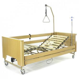 Кровать с электроприводом Belberg 1-194ДЛК, 5 функц. ДЕРЕВО (матрас) в