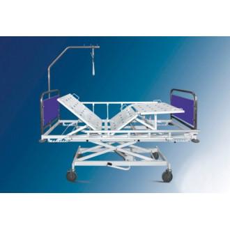 Кровать мед. функц. Belberg 3-02 на колесах, с регул. высоты при помощи гидропривода в