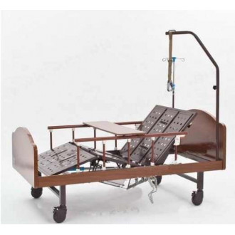 Механическая кровать функциональная медицинская DHC с принадлежностями FF-4 с функцией переворачивания пациента в