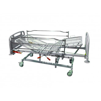 Кровать медицинская функциональная 4-х секционная механическая Vermeiren Luna Metal в