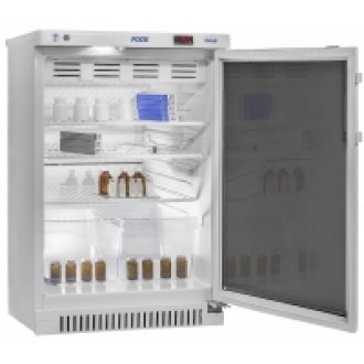 Холодильник фармацевтический малогабаритный ХФ-140-1(ТС) с тонированной стеклянной дверью (140 л) в
