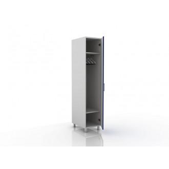 Шкаф для одежды (в комплекте перекладина хром, полки) 105-001-2 в