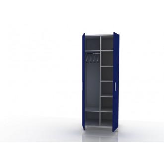 Шкаф для одежды (в комплекте перекладина хром, полки) 105-001-9 в