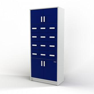 Шкаф картотечный (глухие дверцы) 105-004-2 в