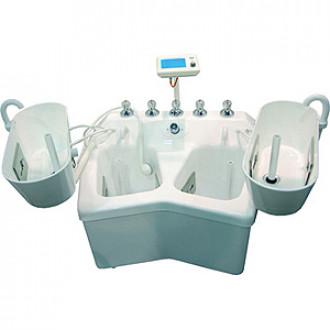 Электрогальваническая вихревая ванна для конечностей Unbescheiden Модель в