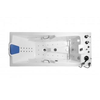 Ванна водолечебная Оккервиль гидро/аэромассажная с пультом управления в