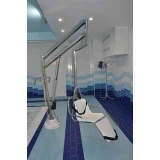 Подъемник большой для опускания пациента в бассейн в