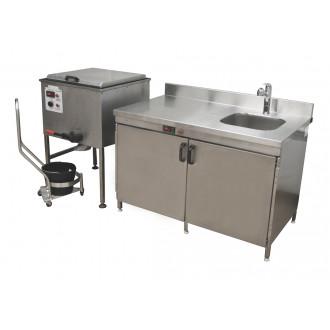 Кухня для подготовки лечебной грязи ГК-1-80 в
