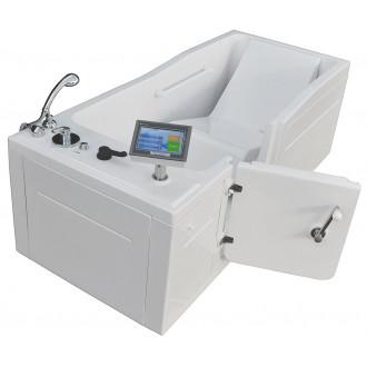 Пароуглекислая ванна Оккервиль Комби с дверцей в