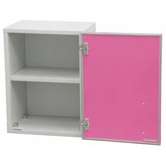 Шкаф медицинский настенный для перевязочного материала (с полками, одностворчатый) в