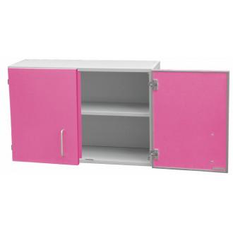 Шкаф медицинский настенный для перевязочного материала (с полками, двухстворчатый) в