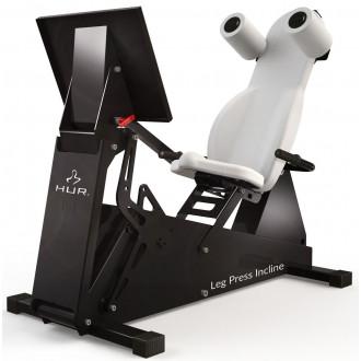 Тренажер механотерапевтический HUR Rehabilitation 5545 жим ногами сидя и полулёжа в