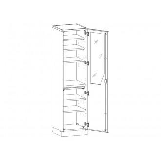 Шкаф медицинский МШ-1-05 для инструментария и медикаментов в