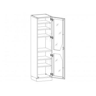 Шкаф медицинский МШ-1-04 для медикаментов в