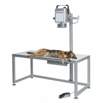 Рентгеновская диагностическая система Gierth HF 200 A Plus со столом CombiVet S в