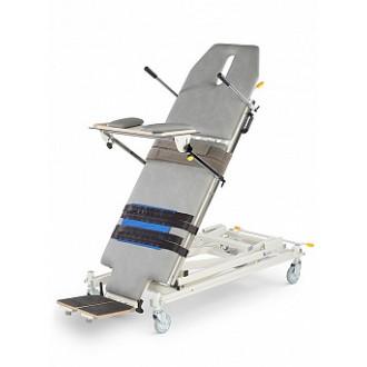 Массажный стол-вертикализатор с изменяемой высотой, двухсекционный Lojer Multi-Tilt в