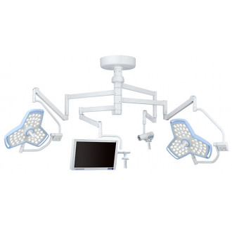 Трехкупольный операционный светодиодный светильник серии HyLED 8 в