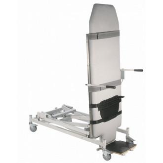 Массажный стол-вертикализатор односекционный, с изменяемой высотой ,с электроприводом Lojer Tilt в