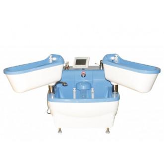 Четырехкамерные ванны для струйно-контрастных и электрогальванических процедур Tasman в