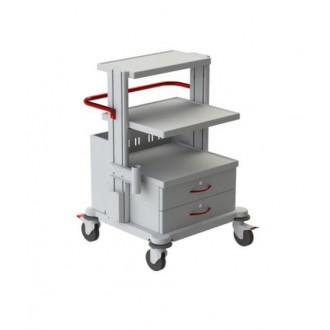 Тележка медицинская функциональная ТМ-9 (для гинекологического кабинета, приборная) в