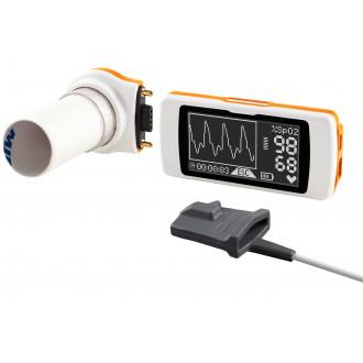 Портативный спирометр Spirodoc с оксиметром SpO2 в