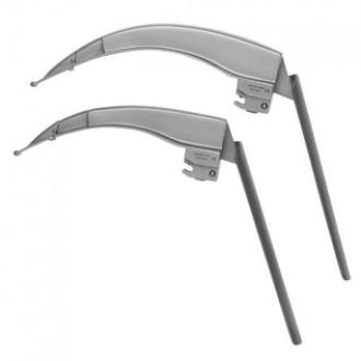 Клинки ларингоскопические Ri-Integral Flex Macintosh Ф.О. c гибким дистальным концом, со встроенными световодами в
