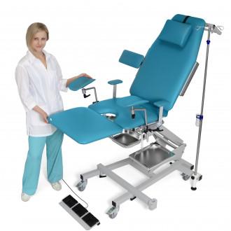 Гинекологическо кресло трехсекционное операционное электромеханическое ZERTS в