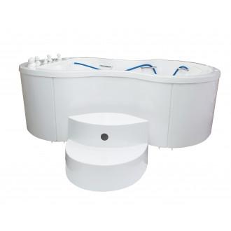 Ванна водолечебная Хаббарда для подводного душ-массажа в