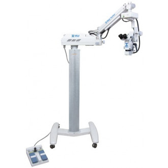 Операционный микроскоп MJ 9200D c автоматическим ZOOM увеличением и перемещением Х-Y, специализированная модель для офтальмологии в