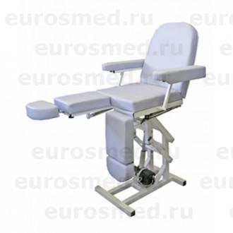 Педикюрное кресло MedMebel №3м с четырьмя электроприводами в