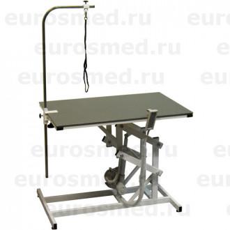 Стол ветеринарный универсальный для груминга СВУ с электроприводом и полимерным покрытием в