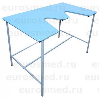 Стол ветеринарный СВУ-18 столешница полипропилен в