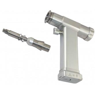 Дрель медицинская Система 20 Silver Модель 20.08.2.000 с универсальным аккумуляторным приводом c насадкой фреза краниальная в