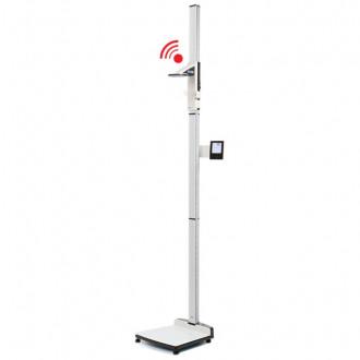 Весы медицинские платформенные с электронным ростомером seca 285 в