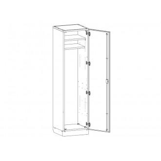 Шкаф медицинский МШ-1-06 для хранения инструментария в