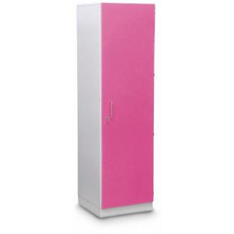 Шкаф медицинский высокий для хранения медикаментов (с полками, одностворчатый) в